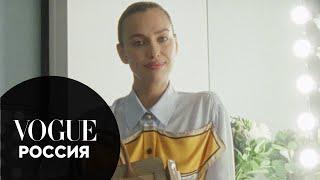Что в сумке у Ирины Шейк? | Vogue Россия