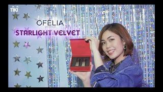 Tiki -  Set Son Giáng Sinh OFÉLIA Starlight Velvet Lipstick - Santa Baby