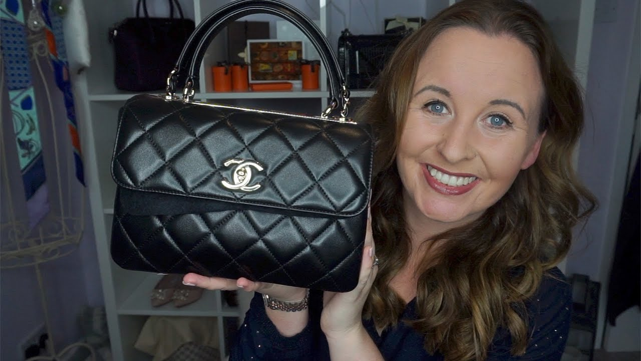 b4c87530fc8f0a Chanel Trendy CC Top Handle Bag Review - YouTube