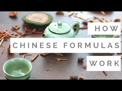 How Chinese Herbal Formulas Work