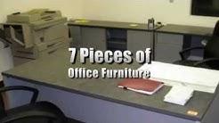 L-Shape Desk, Desks, Credenza, Chairs and File Cabinet on GovLiquidation.com