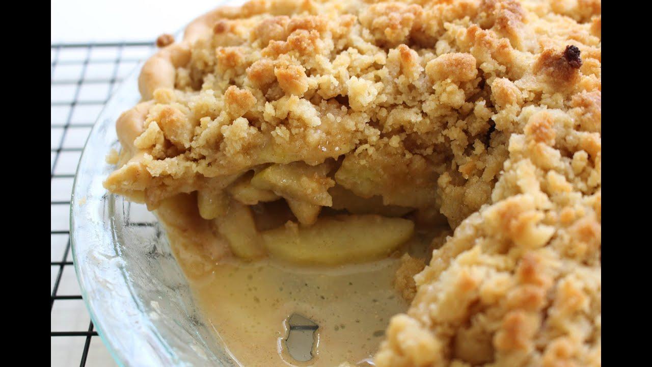 Making a Dutch Apple Pie From Scratch