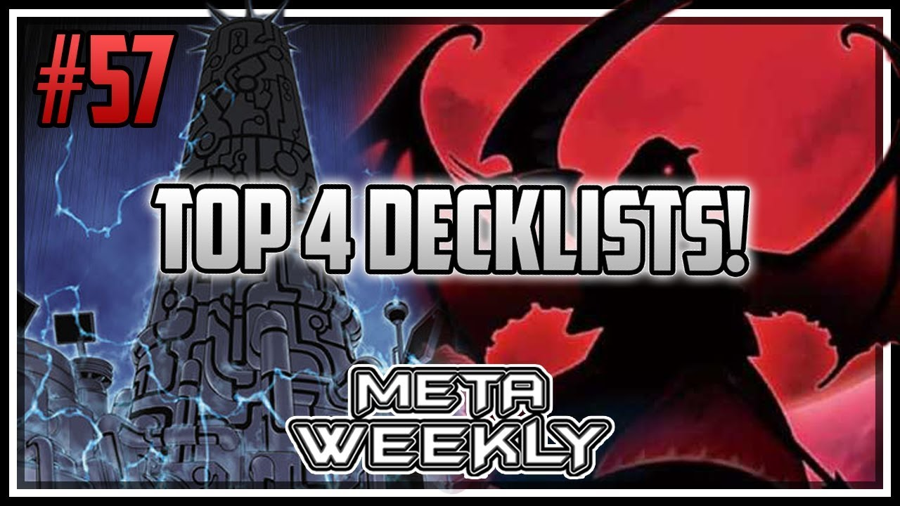 Top 4 DeckLists! Meta Weekly 57! [Yu-Gi-Oh! Duel Links]