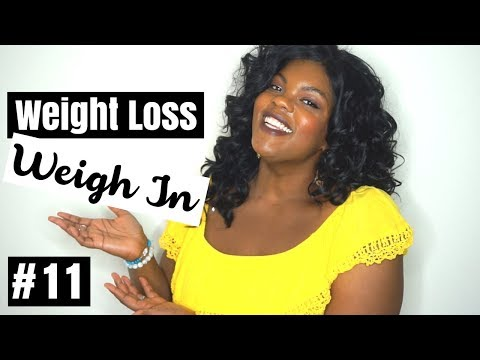 WEIGHT LOSS WEIGH IN 11 KEILA KETO