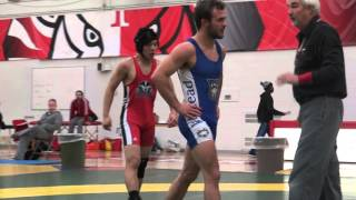 2015 York Open FS57kg Chris Waltner (Lakehead) vs Kingston Wong (Brock)
