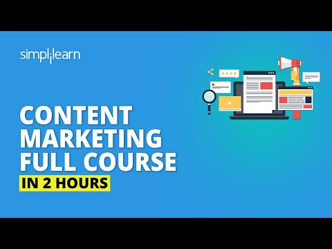Content Marketing Full Course | Content Marketing Tutorial For Beginners | Simplilearn