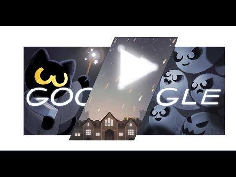 Google Halloween Wizard Cat Game