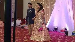 Bride-groom wedding dance choreography
