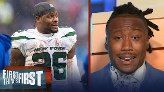 Brandon Marshall reacts to Jets release of Le'Veon Bell | NFL | FIRST THINGS FIRST