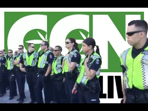 Cannabis Culture News LIVE: Vancouver Police Crackdown on Cannabis Day 2015