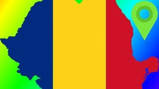 Romania's Borders & Suspiciously Similar Flags