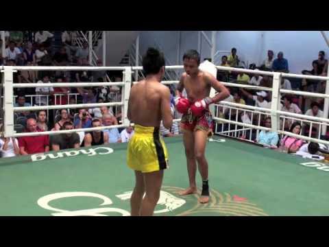 Kok (Tiger Muay Thai) vs. Sumontha (Krabi) @ BAngla Boxing Stadium