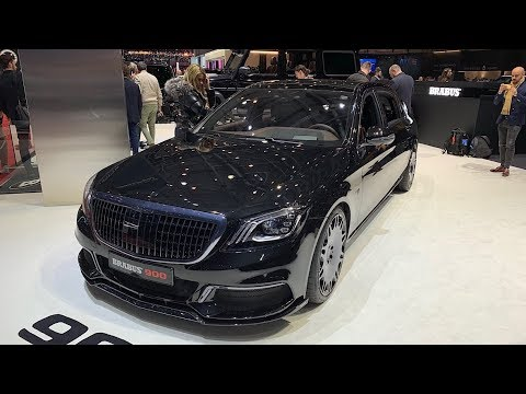 BRABUS 900: Mercedes-Maybach S650 With 900 HP!