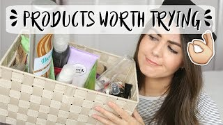 BEAUTY PRODUCTS I WILL & WON'T BE REPURCHASING // 2017 Empties | Rachael Jade