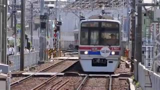 【祝創立110周年】京成電車(京成船橋〜京成八幡間)4k30p