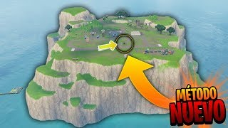 "CAN YOU GET TO THE ""SECRET ISLAND"" in THE NEW FORTNITE UPDATE !? 🔥DollarGames🔥"