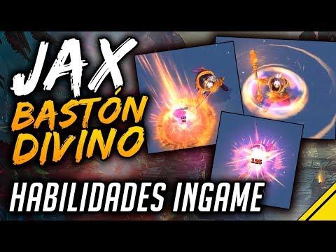 JAX BASTÓN DIVINO - PRECIO y ANIMACIONES de HABILIDADES Nueva Skin | Noticias League Of Legends LoL