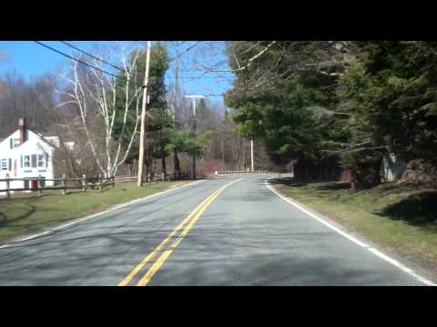 DJ driving to Kripalu Center in Stockbridge, Massachusetts March 17, 2012