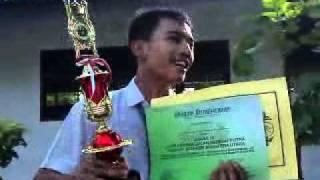Pidato kemenangan Ari Anggara bonsaL