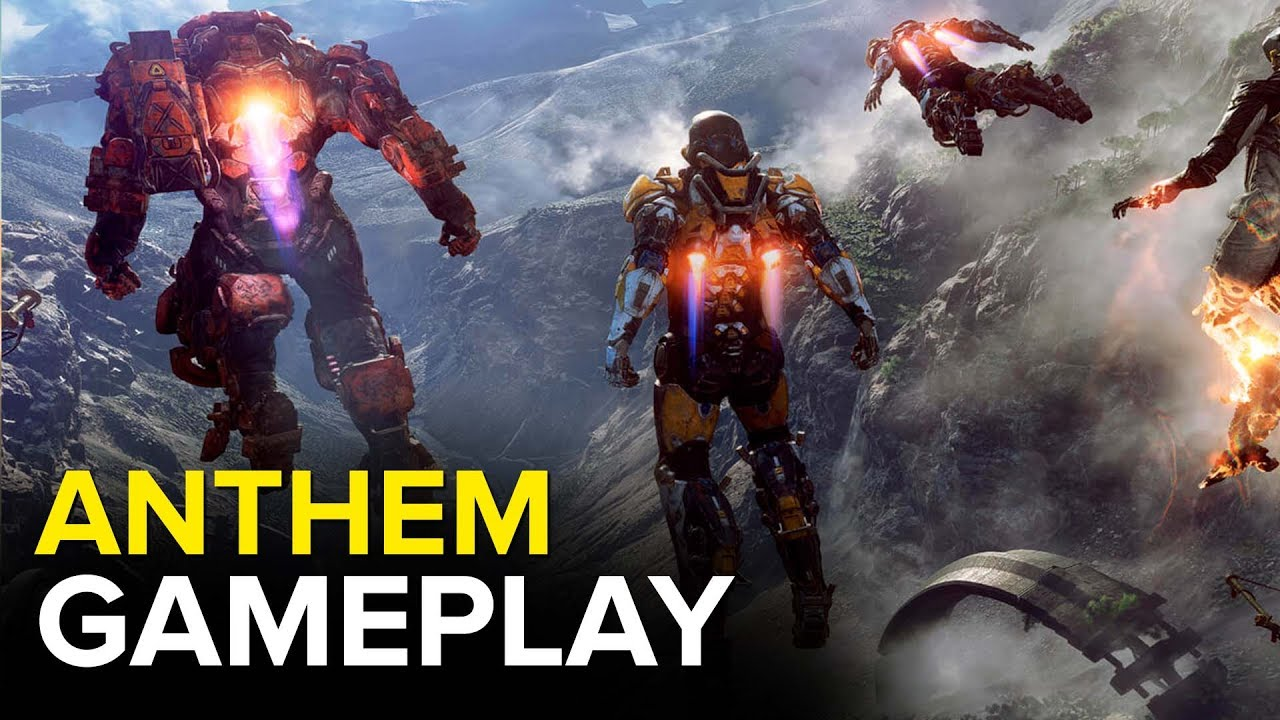 Anthem Gameplay Trailer E3 2017 4k Youtube