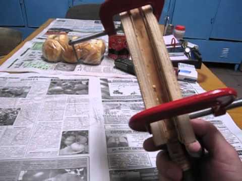 Как сделать ножны из бересты  видео 120