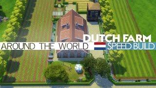 The Sims 4 - Speed Build - Dutch Farm (Around the World)
