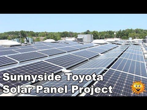 Sunnyside Toyota - Solar Panel Project