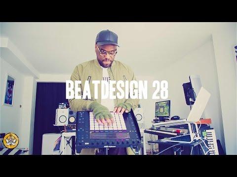 Ableton Push 2 Live Sample Chopping Performance (Beatdesign 28)