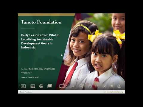 Localization of the SDGs through Partnerships in Indonesia