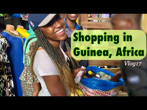 How we do our shopping in Guinea / Biggest Market in Conakry / Vlog