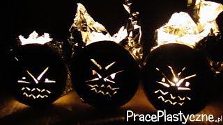 Jak zrobić Halloweenowe lampiony?