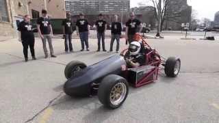 MSOE students test super-mileage vehicles