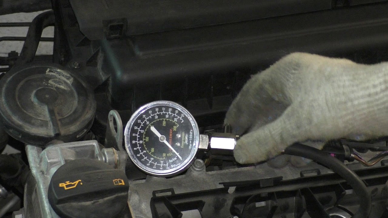 volkswagen polo sedanи компрессия в цилиндрах