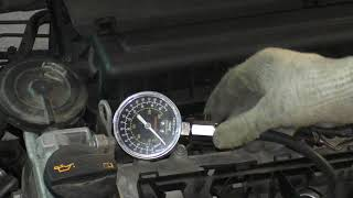 Проверка компрессии VW Polo, Jetta, Skoda Rapid 1,6 CFNA