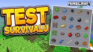 TEST UMIEJĘTNOŚCI W SURVIVALU | Minecraft Bingo + AutomattPL