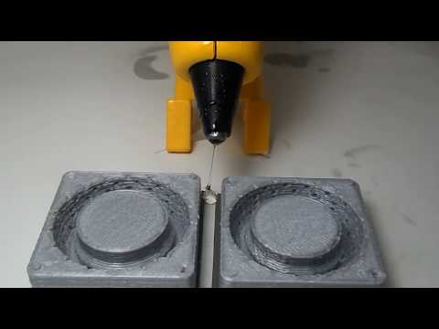 RC Car Tires made out of hot glue and a 3D printed Mold!