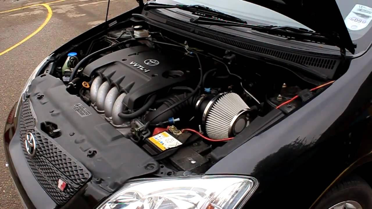 Toyota Corolla Vvtl I Blitz Sus Induction Kit Sound