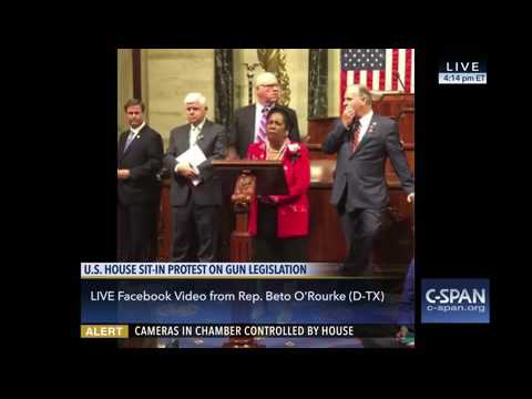 Congresswoman Jackson Lee Speech During House Democratic Sit-In