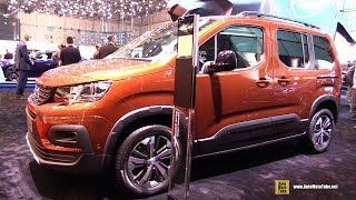2019 Peugeot Rifter Gt Line - Exterior And Interior Walkaround - Debut At 2018 Geneva Motor Show
