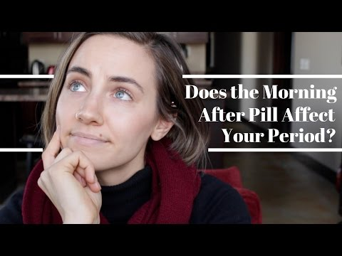 Does The Morning After Pill Affect Your Period