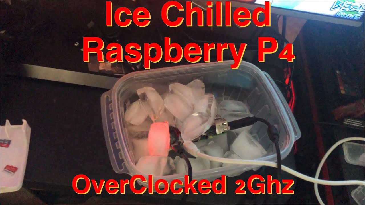 Water Proof Raspberry Pi 4B 2Ghz Overclock Test!!