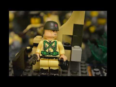 видео: Лего Вторая мировая 1943 год, восточный фронт\ Lego World War II in 1943, eastern front,.