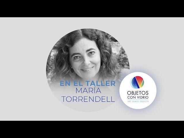 En el taller de María Torrendell