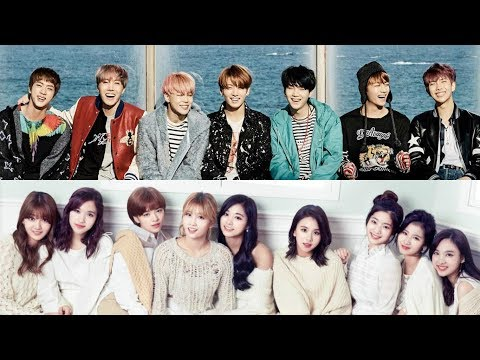 BTS and TWICE pose with renowned Japanese musicians at 'Music Station Super Live'