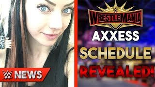 Alexa Bliss Dyed Hair?! Axxess GA Schedule REVEALED! WrestleMania 35 Rumors! - WWE News Ep. 233