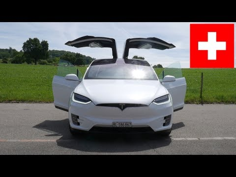 Tesla Model X Schweiz Roadtrip