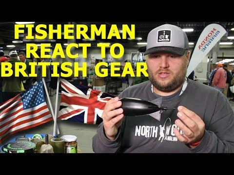 Fishermen React To British Carp Fishing Gear - US Vs UK Kit