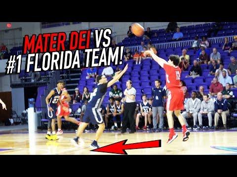 Mater Dei DOUBLE OT VS #1 FLORIDA TEAM! Spencer Freedman Pulls From WAY DEEP!