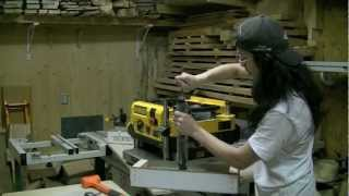 2/3 - Installing A Shelix Cutterhead In A Dewalt Dw735 Thickness Planer