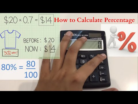 How To Calculate Percentage / How To Find Out Percentage From Calculator Easy Way